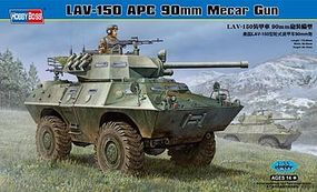 HobbyBoss LAV-150 APC 90mm Mecar Gun Plastic Model Military Vehicle Kit 1/35 Scale #82421