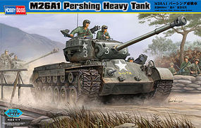 HobbyBoss M26A1 Pershing Heavy Tank Plastic Model Military Vehicle Kit 1/35 Scale #82425