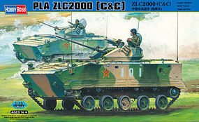 HobbyBoss ZLC2000 Airborne Combat Vehicle Plastic Model Military Kit 1/35 Scale #82435