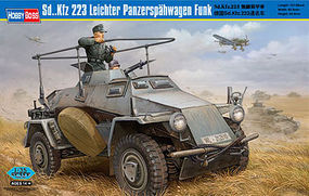 HobbyBoss SdKfz 223 Panzerspahwagen Plastic Model Military Vehicle Kit 1/35 Scale #82443