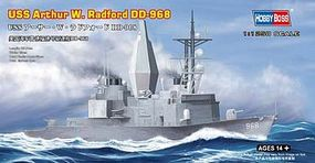 HobbyBoss USS A.W.Radford DD-968 Plastic Model Military Ship 1/1250 Scale #82505