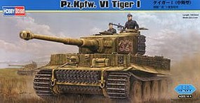 HobbyBoss PZ.KPFW. VI Tiger I Plastic Model Military Vehicle Kit 1/16 Scale #82601