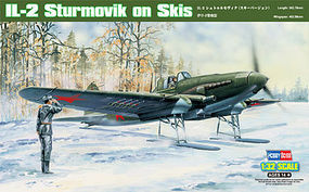 HobbyBoss IL-2 Sturmovik On Skis Plastic Model Airplane Kit 1/32 Scale #83202