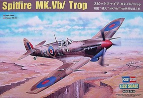HobbyBoss Spitfire MK.Vb/Trop Plastic Model Airplane Kit 1/32 Scale #83206
