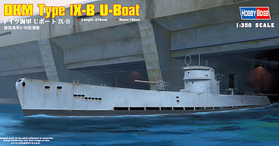 HobbyBoss DKM Navy Type IX-B U-Boat Plastic Model Military Ship Kit 1/350 Scale #83507