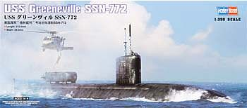 HobbyBoss USS Greenville SSN-772 Submarine Plastic Model Military Ship Kit 1/350 Scale #83531