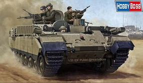 HobbyBoss IDF APC Puma Plastic Model Military Vehicle Kit 1/48 Scale #83868