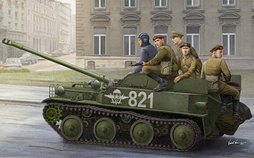 HobbyBoss Russian Asu-57 Air Tank Dest35