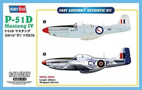 HobbyBoss P-51D MUSTANG IV FIGHTER 1-48