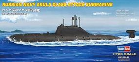 HobbyBoss EB Akula Class Russian Attack Sub Plastic Model Military Ship Kit 1/700 Scale #87005