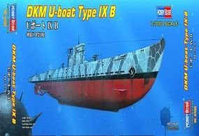 HobbyBoss U-Boat Typr IX B Plastic Model Military Ship Kit 1/700 Scale #87006