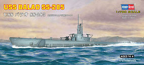 HobbyBoss USS Balao SS-285 Plastic Model Military Ship Kit 1/700 Scale #87011