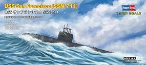 HobbyBoss USS San Francisco SSN-711 Plastic Model Military Ship Kit 1/700 Scale #87015