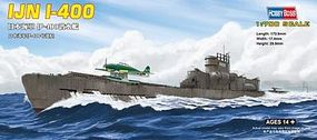 HobbyBoss Japanese I-400 Class Submarine Plastic Model Military Ship Kit 1/700 Scale #87017