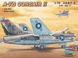 HobbyBoss A-7B Corsair II Plastic Model Airplane Kit 1/72 Scale #87202