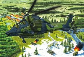 HobbyBoss Eurocopter EC-655 Tiger UHT German Plastic Model Helicopter Kit 1/72 Scale #87214