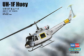 HobbyBoss UH-1F Huey Plastic Model Helicopter Kit 1/72 Scale #87230