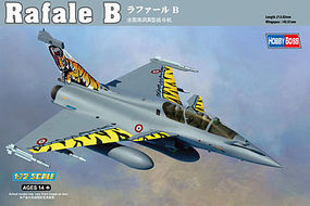HobbyBoss Rafale B Plastic Model Airplane Kit 1/72 Scale #87245