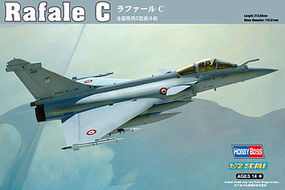 HobbyBoss Dassault Rafale C Plastic Model Airplane Kit 1/72 Scale #87246