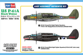 HobbyBoss Us P-61A Black Widow 1-72