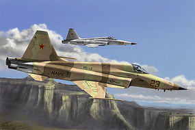 HobbyBoss F-5E Tiger II Fighter Plastic Model Airplane Kit 1/72 Scale #hy80207