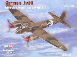 HobbyBoss German JU88 Fighter Plastic Model Airplane Kit 1/72 Scale #hy80297
