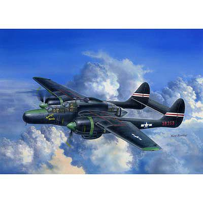 HobbyBoss US P-61C Black Widow Plastic Model Airplane Kit 1/48 Scale #hy81732