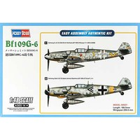 HobbyBoss BF109G-6 Plastic Model Airplane Kit 1/48 Scale #hy81751