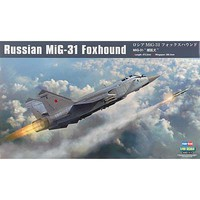 Russian MIG-31 Foxhound Plastic Model Airplane Kit 1/48 Scale #hy81753