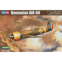 HobbyBoss Romanian IAR-80 Plastic Model Airplane Kit 1/48 Scale #hy81757