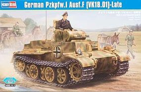 HobbyBoss German PZ.KPFW.I AUSF.F VK1801 Tank Plastic Model Military Vehicle Kit 1/35 Scale #hy83805