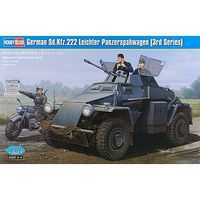 HobbyBoss German Sd.Kfz.222 Leichter Panzerspahwagen Plastic Model Airplane Kit 1/35 #hy8