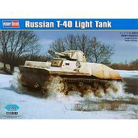 HobbyBoss Russian T-40 Light Tank Plastic Model Airplane Kit 1/35 Scale #hy83825