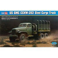 HobbyBoss US GMC CCKW-352 Cargo Truck Plastic Model Car Truck Vehicle 1/35 Scale #hy83831