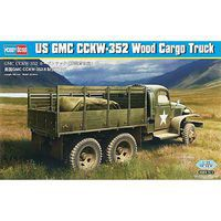 HobbyBoss US GMC CCKW-352 Wood Cargo Truck Plastic Model Military Vehicle 1/35 Scale #hy83832
