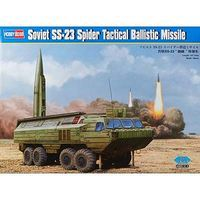 HobbyBoss Soviet SS-23 Spider Missile Plastic Model Military Vehicle Kit 1/35 Scale #hy85505