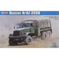 HobbyBoss Russian KRAZ-255B Plastic Model Military Vehicle Kit 1/35 Scale #hy85506