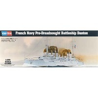 HobbyBoss French Navy Pre-Dreadnought Battleship Danton Plastic Model Ship Kit 1/350 #hy86503