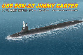 HobbyBoss USS SSN-23 Jimmy Carter Plastic Model Military Ship Kit 1/700 Scale #hy87004