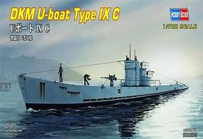 HobbyBoss U-Boat Type IX C Plastic Model Military Ship Kit 1/700 Scale #hy87007