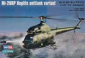 HobbyBoss MI-2URP Hoplite Antitank Plastic Model Helicopter Kit 1/72 Scale #hy87244
