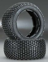 Hot-Bodies HB Khaos Tire White Baja 5B Rear (2)