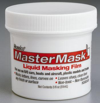 Hobbico Latex Painting Mask -- Master Mask -- 3oz -- #r3410