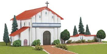 Hobbico California Mission San Francisco De Asis -- Mission Project Building Kit -- #y9029