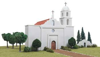 Hobbico California Mission San Luis Rey De Francia -- Mission Project Building Kit -- #y9036