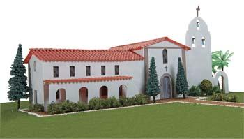 Hobbico California Mission Santa Ines -- Mission Project Building Kit -- #y9042