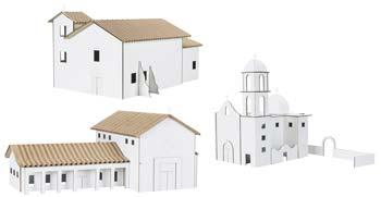 Hobbico Kit 3- San Juan Capistrano/San Rafael/San Jose -- Mission Project Building Kit -- #y9063