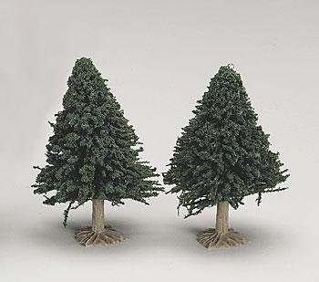 Hobbico Tree- Evergreen (6) -- Mission Project Accessory -- #y9804