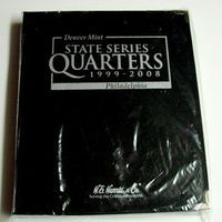 HE-Harris Washington Quarter 1999-2008 State Album Coin Collecting Book and Supply #2601