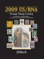 HE-Harris 2009 US/BNA Postage Stamp Catalog (Hardback Spiral Bound) Stamp Collecting Supply #26555